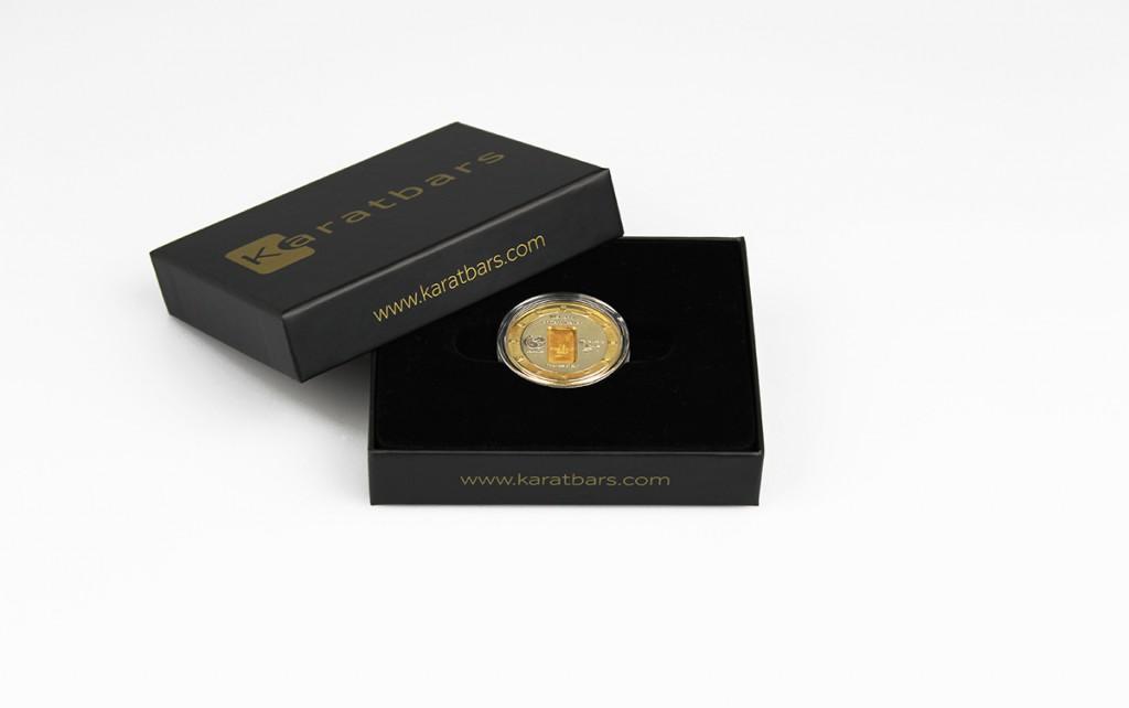 Karatbars Gold-Münze